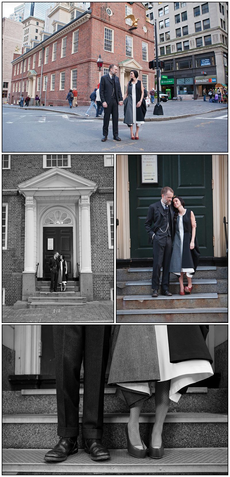 Boston Old Statehouse Wedding photography, Massachusetts wedding photographer