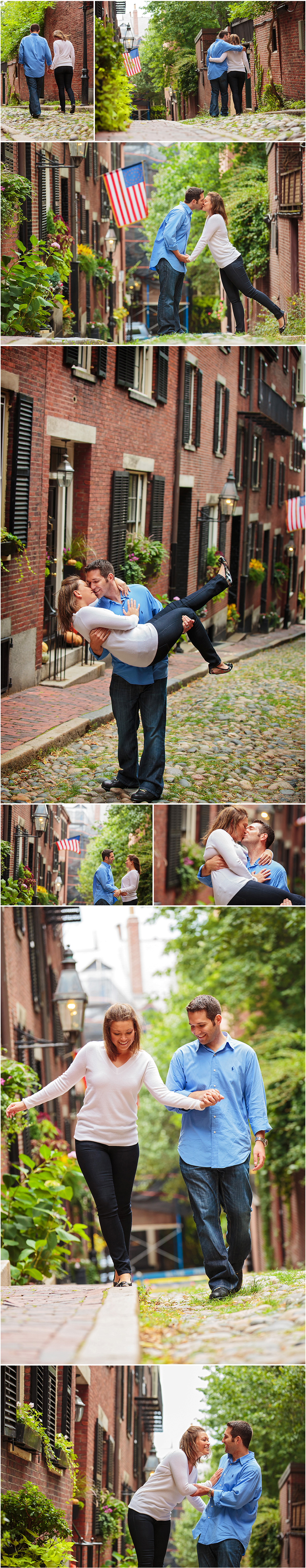 ENGAGEMENT SESSION AND PHOTOS BEACON HILL