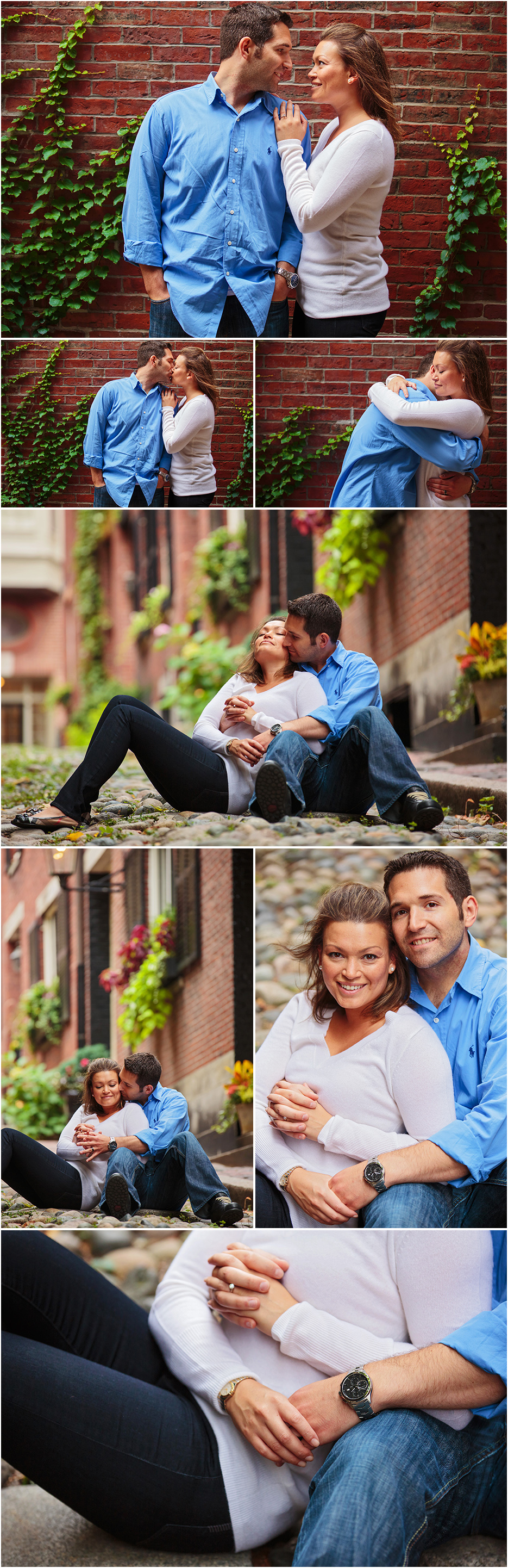 BEACON HILL ENGAGEMENT SESSION AND PHOTOS BY ROBERTO FARREN