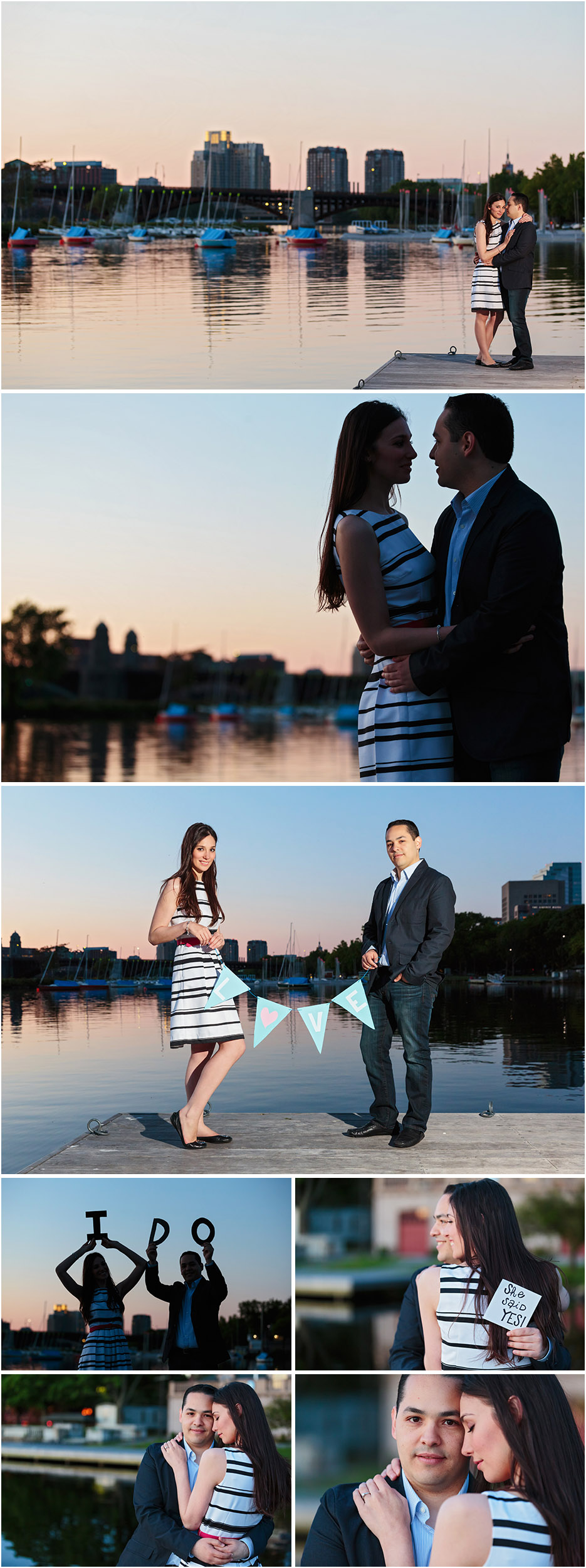 BOSTON ESPLANADE ENGAGEMENT PHOTOS