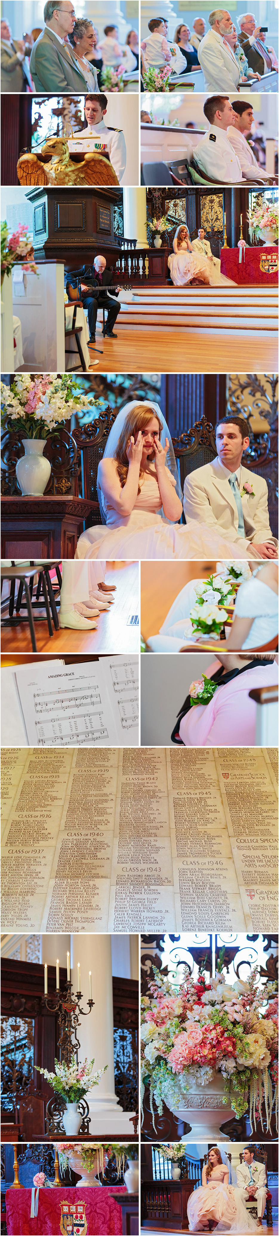 HARVARD MEMORIAL CHURCH WEDDING | CAITLIN AND AARON