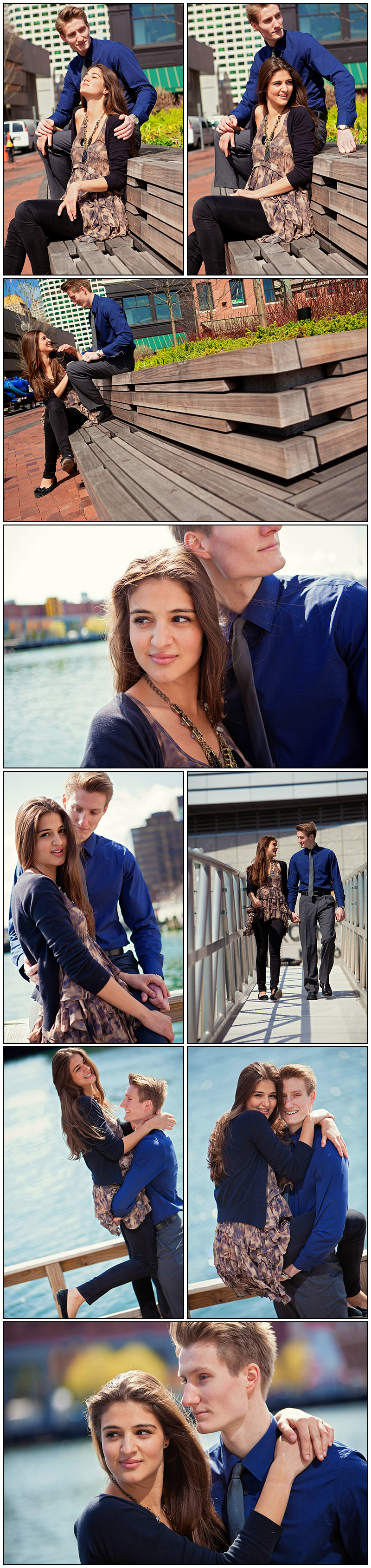 ENGAGEMENT SESSION BOSTON WATERFRONT