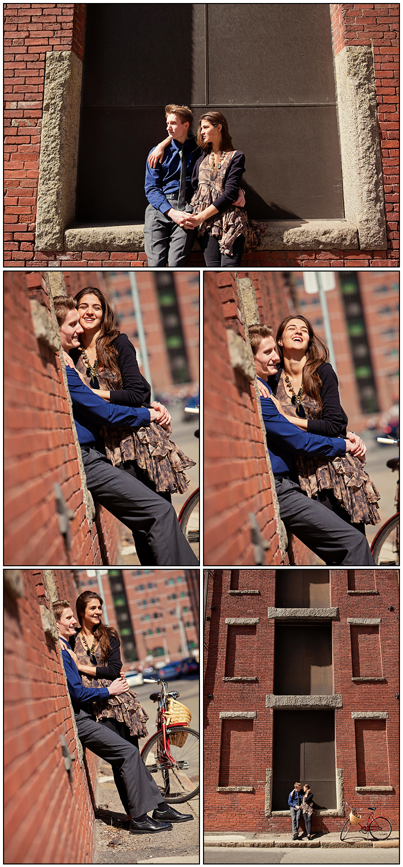 ENGAGEMENT PHOTOS BOSTONS WATERFRONT AND NORTH END
