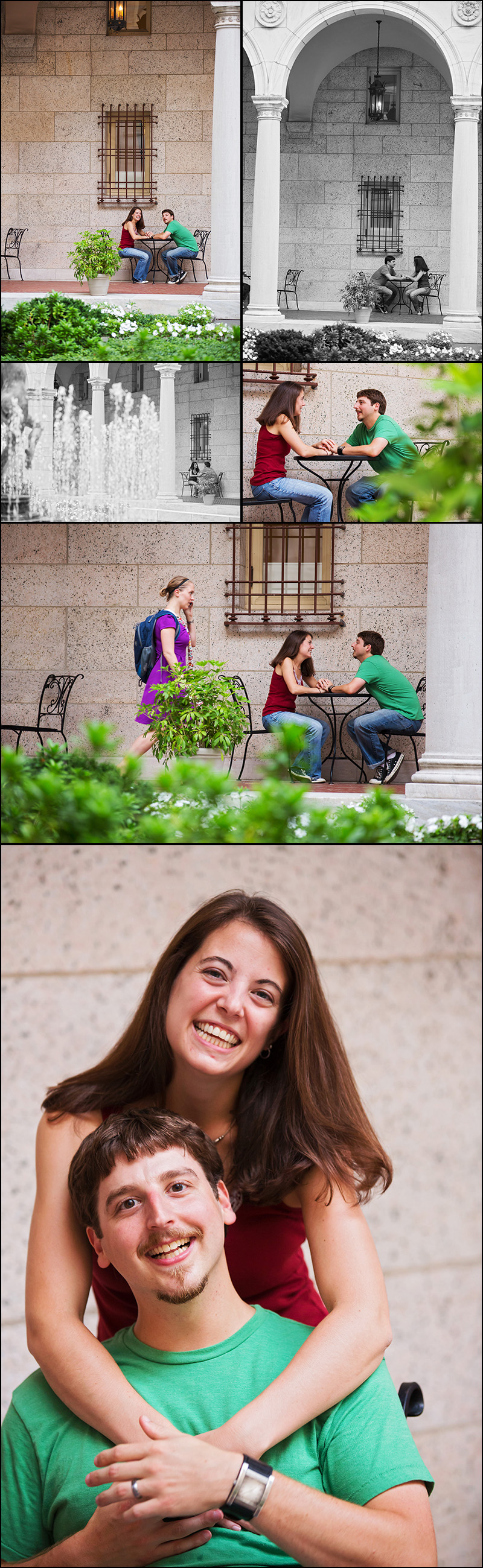 ENGAGEMENT SESSION AT THE BOSTON PUBLIC LIBRARY MA