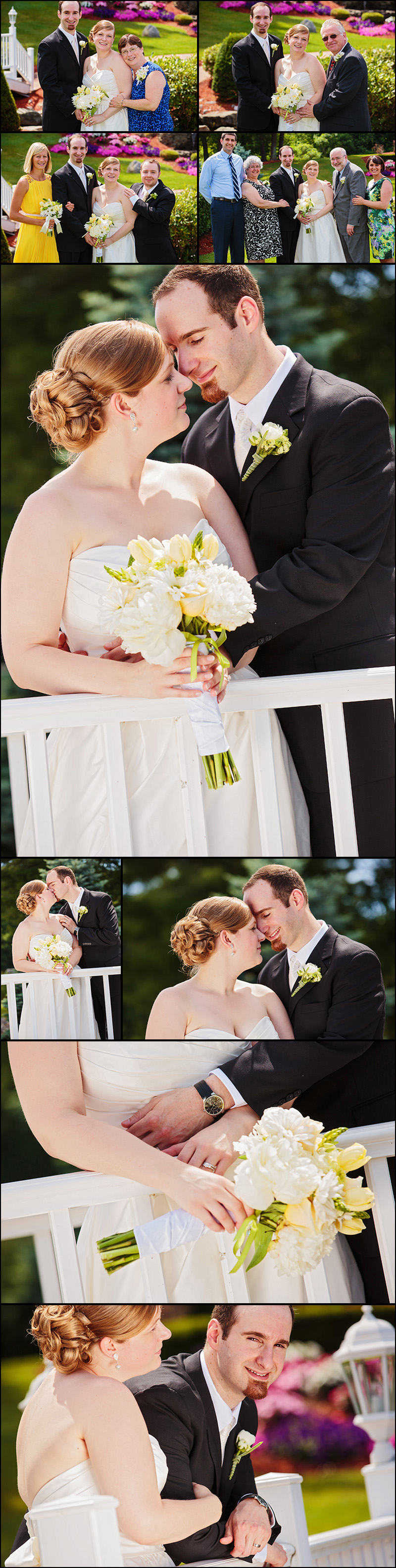 NEW ENGLAND WEDDING PHOTOS AT CASTLETON NH