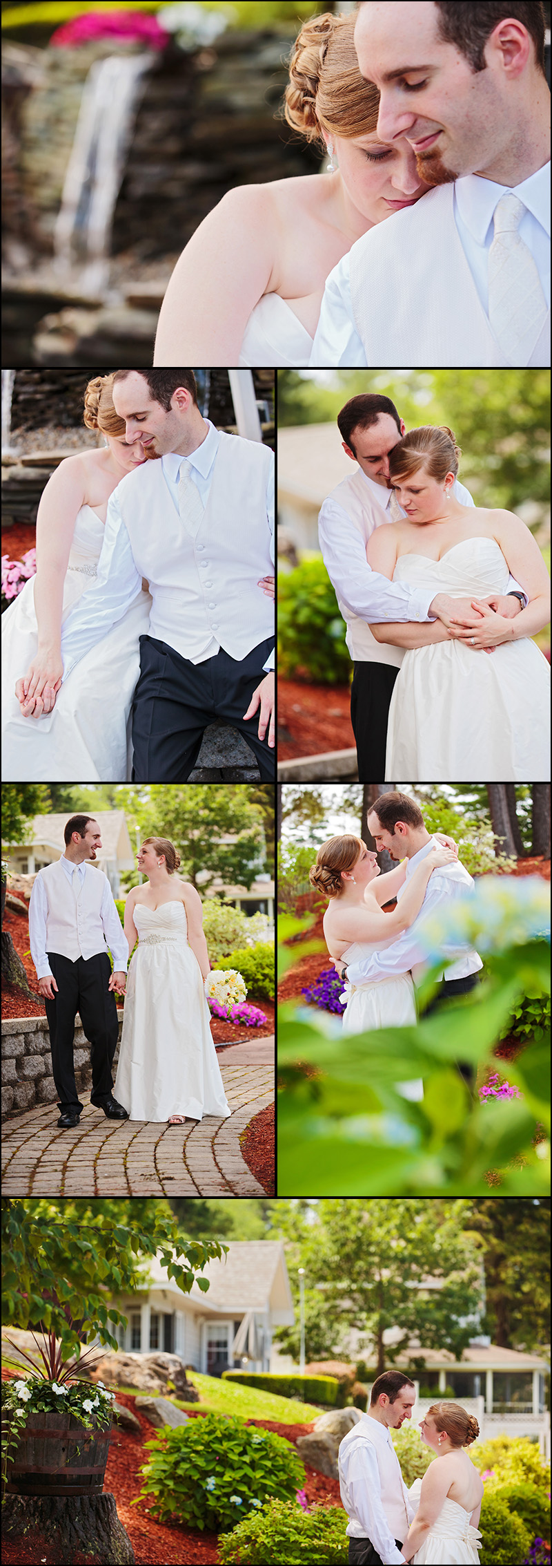 NEW ENGLAND WEDDING PICTURES AT CASTLETON NH