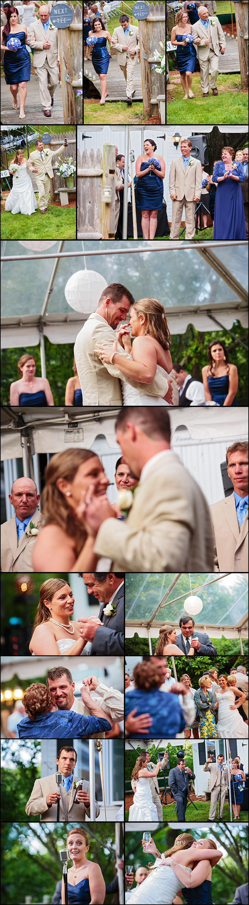 BACKYARD WEDDING PHOTOGRAPHY MEDFIELD MA