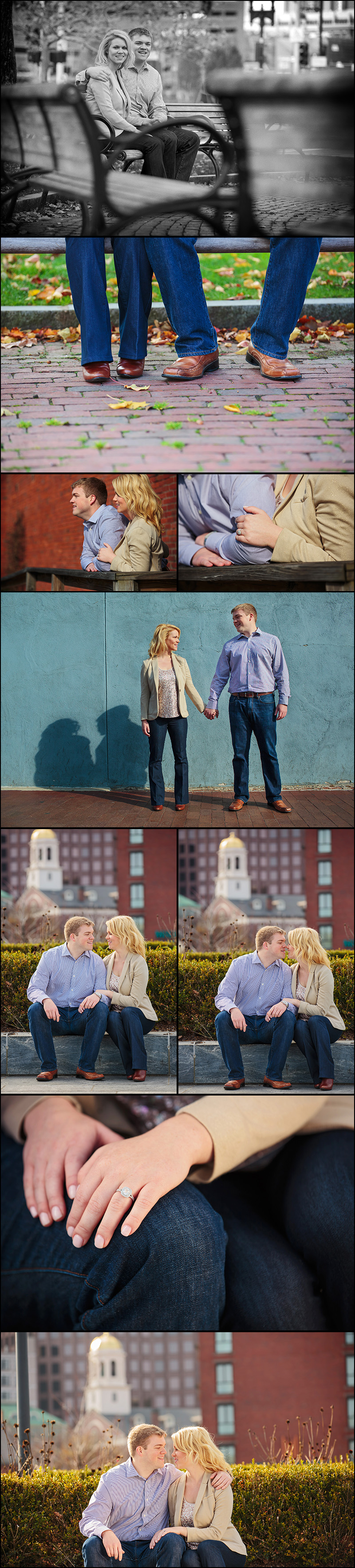NORTH END BOSTON ENGAGEMENT PHOTOS