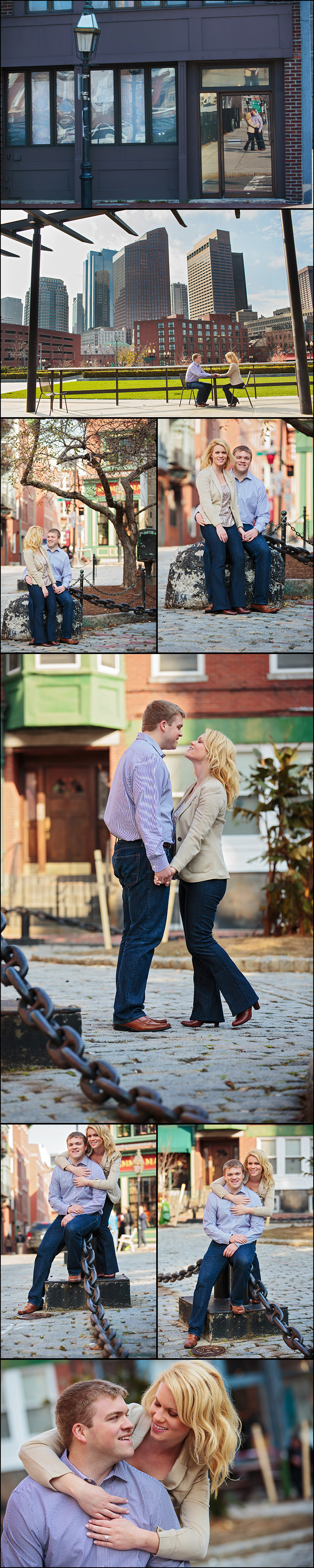 NORTH END ENGAGEMENT PICTURES BY ROBERTO FARREN PHOTOGRAPHY