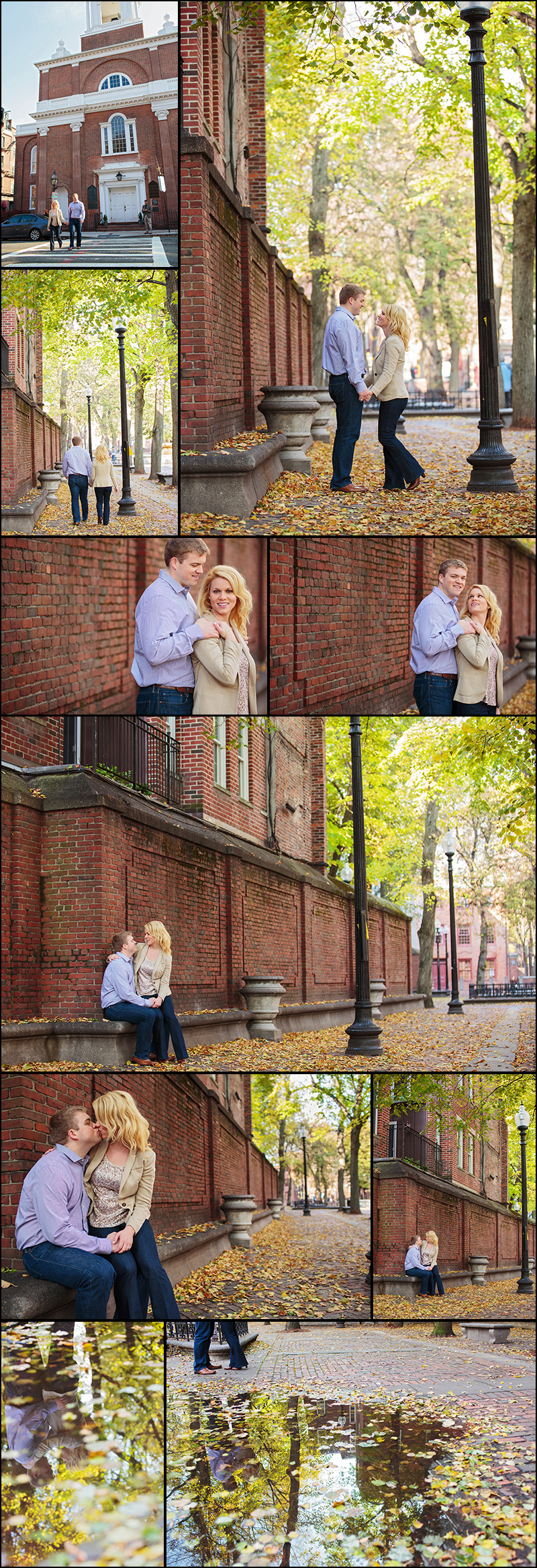 BOSTON NORTH END ENGAGEMENT PICTURES