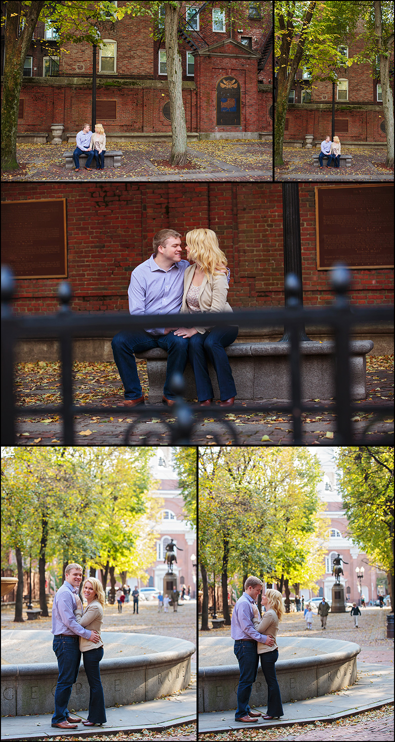 BOSTON ENGAGEMENT PHOTOS IN THE NORTH END