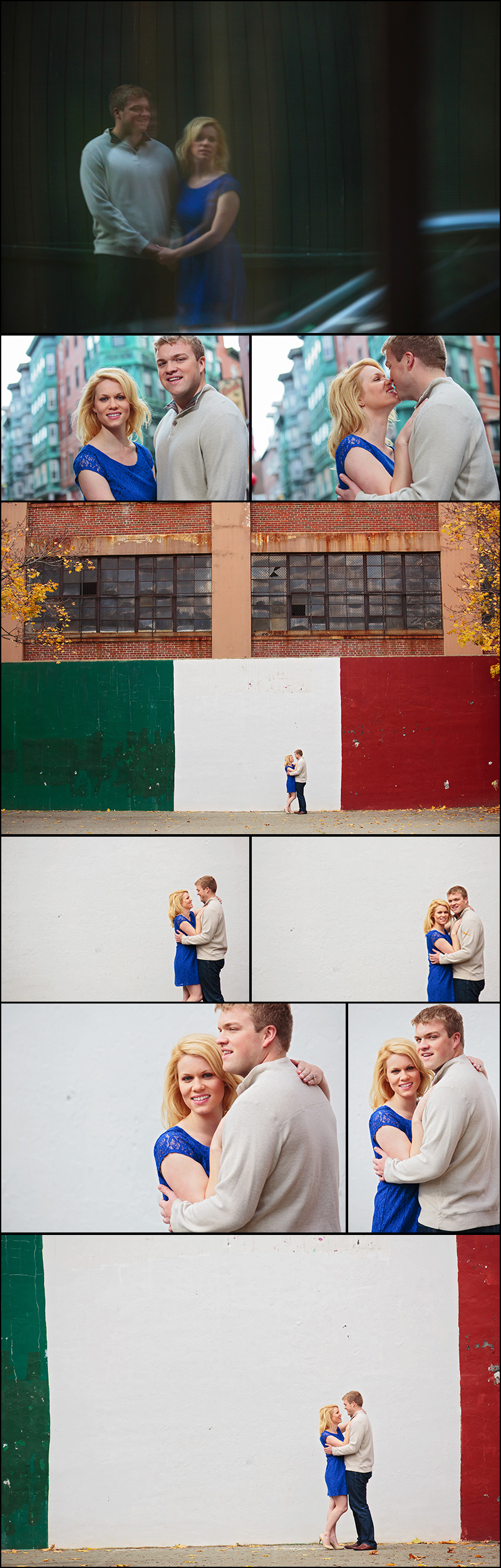 BOSTON NORTH END ENGAGEMENT PHOTOGRAPHY