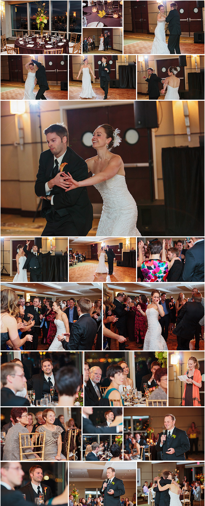 WEDDING PHOTOGRAPHY AT HYATT HARBORSIDE BOSTON