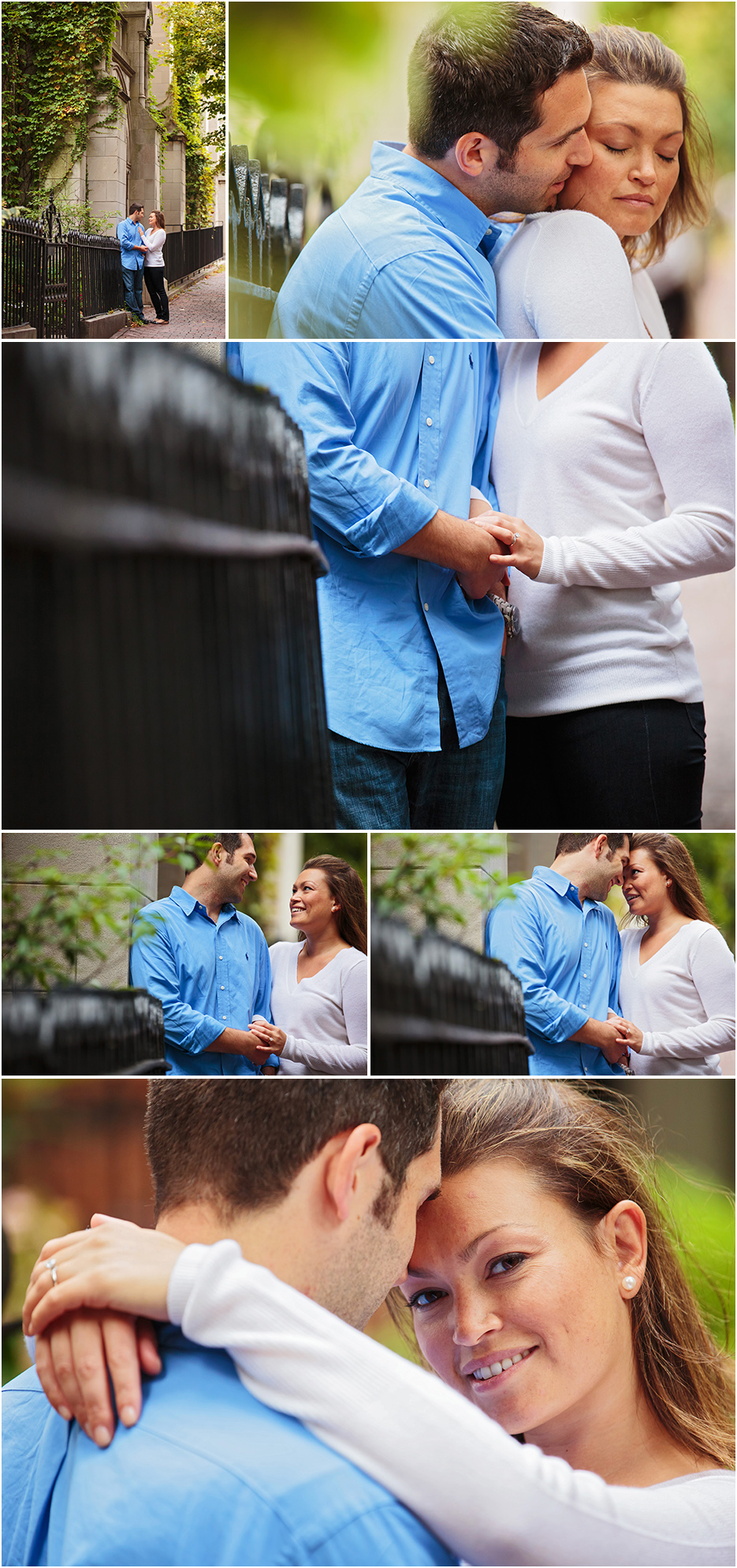 ENGAGEMENT SESSION BEACON HILL BOSTON MA