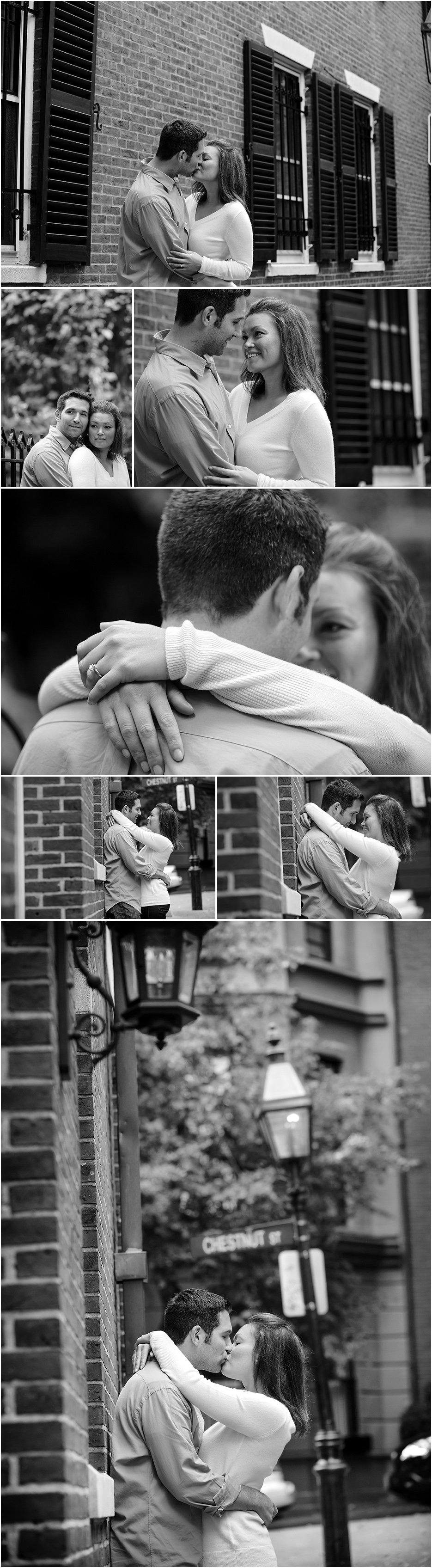 BEACON HILL ENGAGEMENT SHOOT BOSTON MA USA