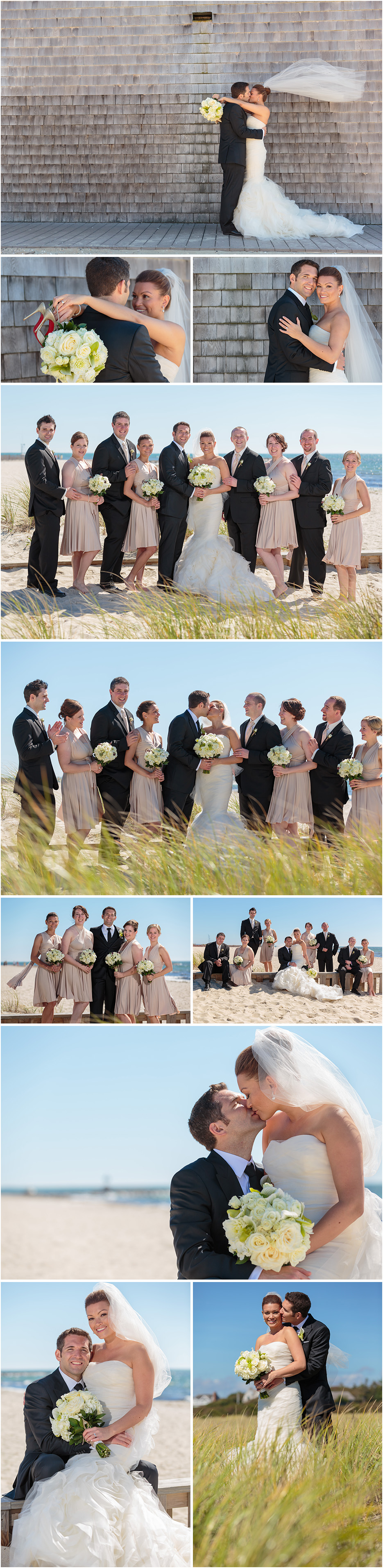 WYCHMERE BEACH CLUB CAPE COD WEDDING PHOTOS