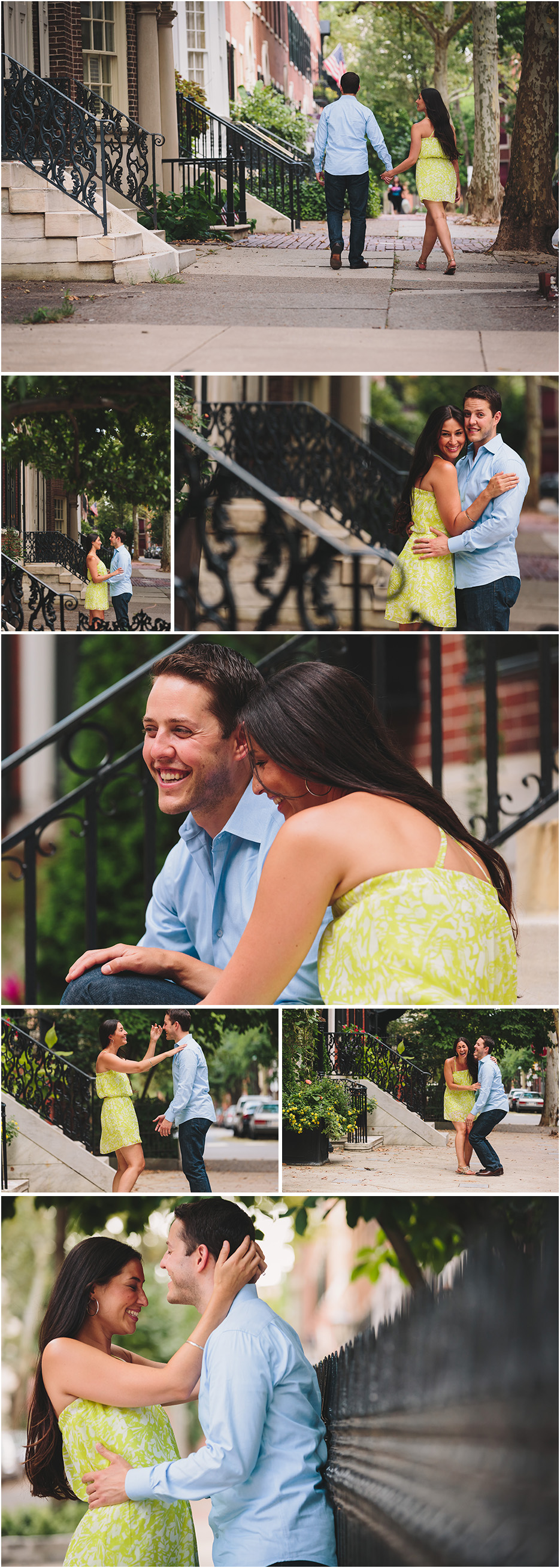 ENGAGEMENT PHOTOS PHILLY PA