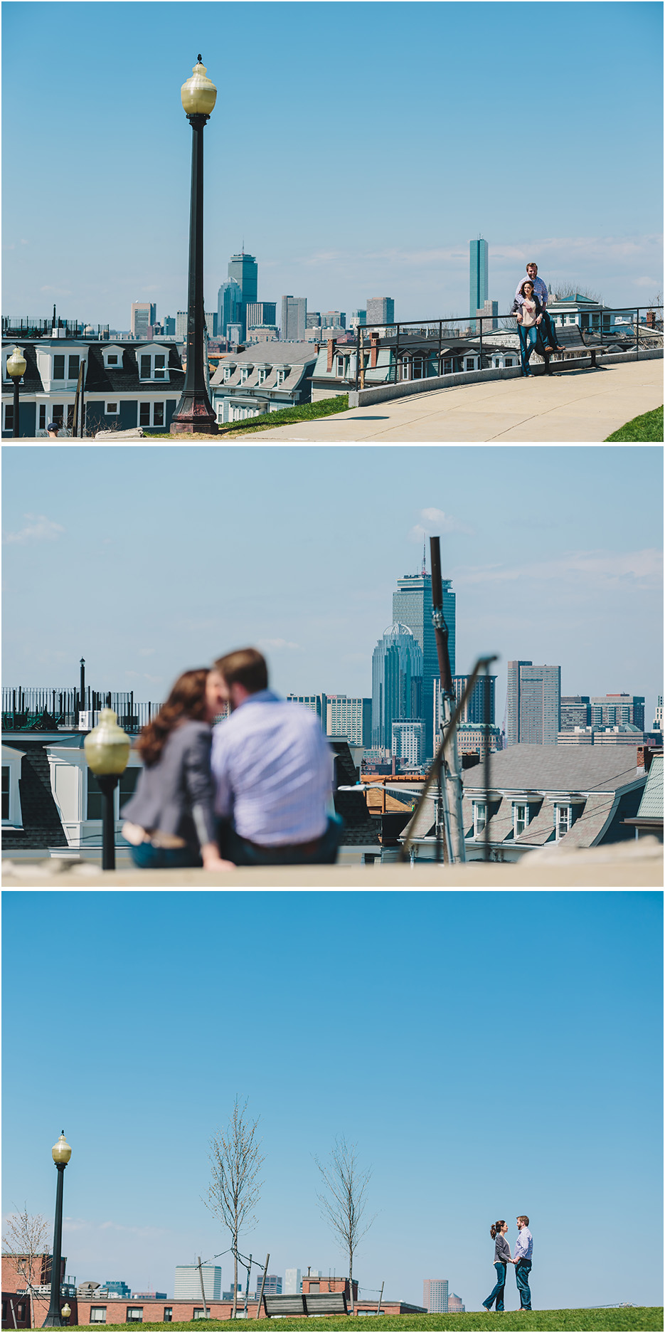 BOSTON ENGAGEMENT PHOTOS IN SOUTHIE