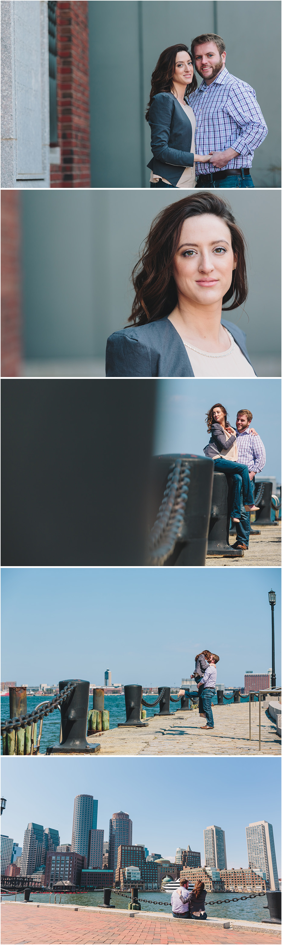 BOSTON WATERFRONT ENGAGEMENT PHOTOS